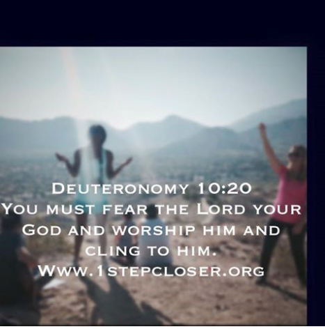 Cling to Him